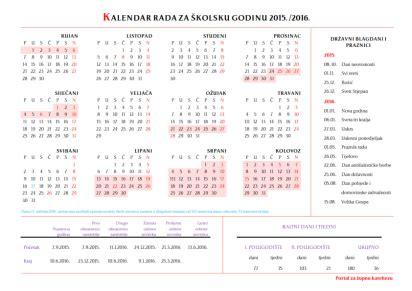Kalendar 2018 Uskrs Datumi Temeljnih Formacija Animatora Za 2014 2015 Godinu