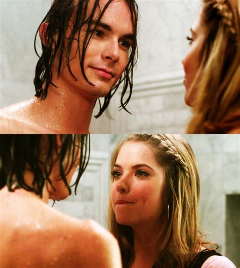 And Caleb Shower by Caleb In The Shower With Pretty Liars