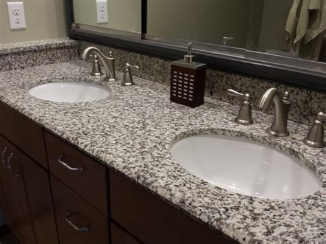 White Tiger Granite Countertop by Tiger Skin Granite Countertops Modern Bathroom Cedar