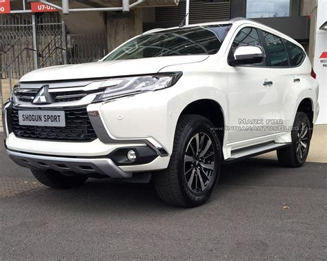 mitsubishi pajero sport 2017 iab reader spots the 2017 mitsubishi shogun sport in the uk