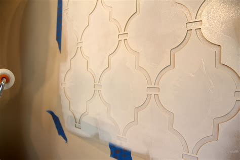 Wall Template Stencils stencil wall complete 346 living