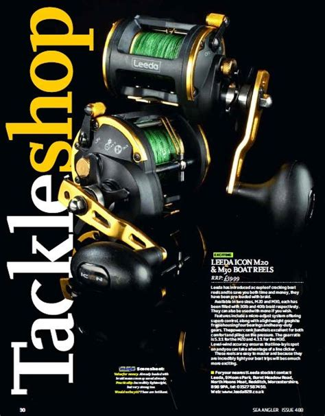 leeda icon boat multiplier review leeda icon multiplier 20 boat reel 163 44 99