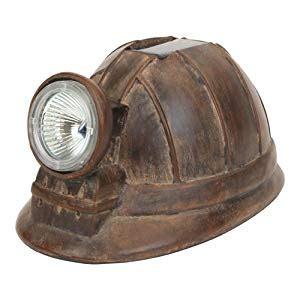 safety lights for hats solar light coal miner hat helmet home garden decor