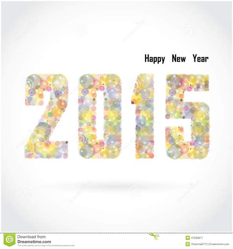 creative new year greeting cards happy new year 2015 creative greeting card design on