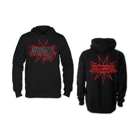 Hoodie Zipper Slipknot Logo With Back Print Hitam Xxxv Cloth slipknot hoodie