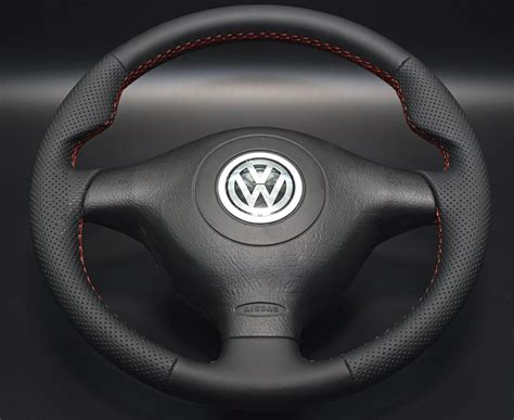 volante golf 4 volante tapizado cuero tipo r