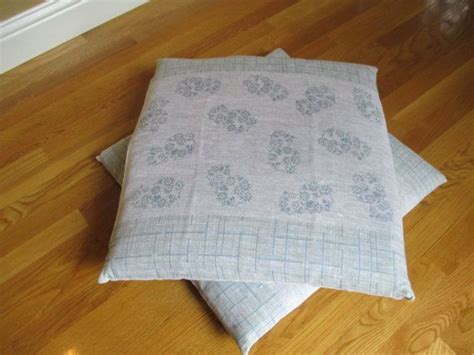 Japanese Floor Pillows by Vintage Japanese Floor Cushion Set Of Two Set Of