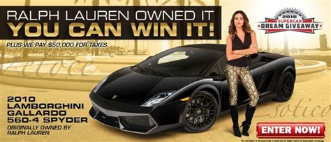 Lamborghini Gallardo Giveaway - 1000 images about 2016 supercar dream giveaway 174 win a lamborghini promo tp1216s on