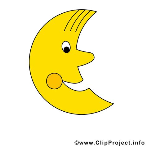clipart free mond clipart