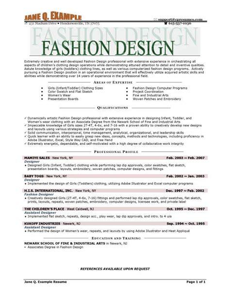 resume format for internship in fashion designing resume ixiplay free resume sles