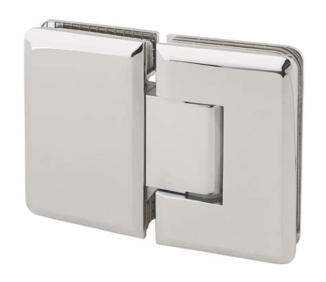 Hinges For Glass Shower Doors Mont 180 Degree Glass To Glass Shower Hinge In Polished Chrome Finish For Frameless Heavy