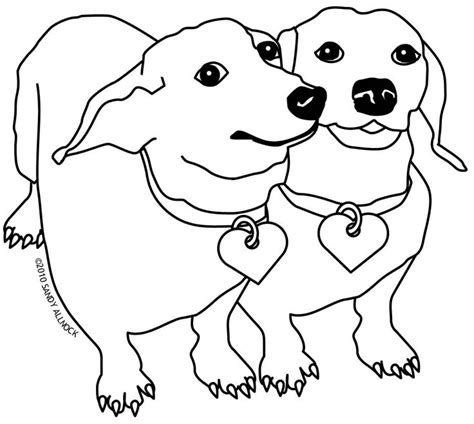 dachshund puppies coloring pages 1000 images about dachshund coloring pages on pinterest
