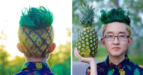 pineapple hairstyle the quot pineapple haircut quot may be the next new thing to sweep