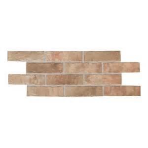 home depot brick tile daltile union square heirloom 2 in x 8 in ceramic