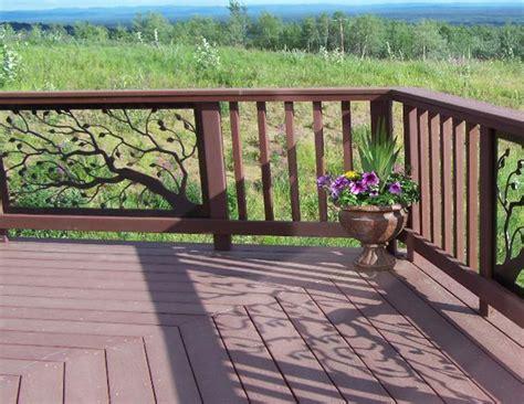 Iron Porch Railing Building Porch Railing From 2x4s Studio Design