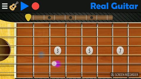 tutorial guitar real despacito tutorial real guitar in android youtube