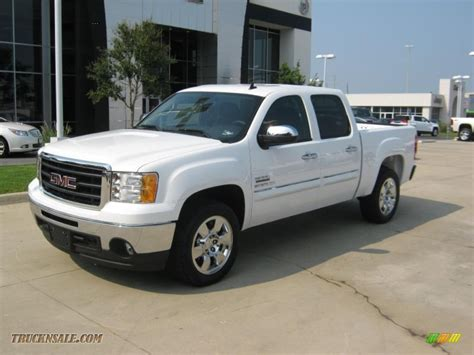 Sle Sales by 2010 Gmc 1500 Sle Crew Cab In Summit White 296927