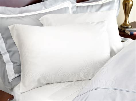 How To Whiten Pillows by 500 Thread Count Bamboo Pillowcase Sets Free Shipping