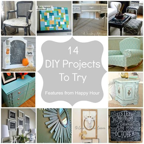 diy projects manualidades happy hour 5 features
