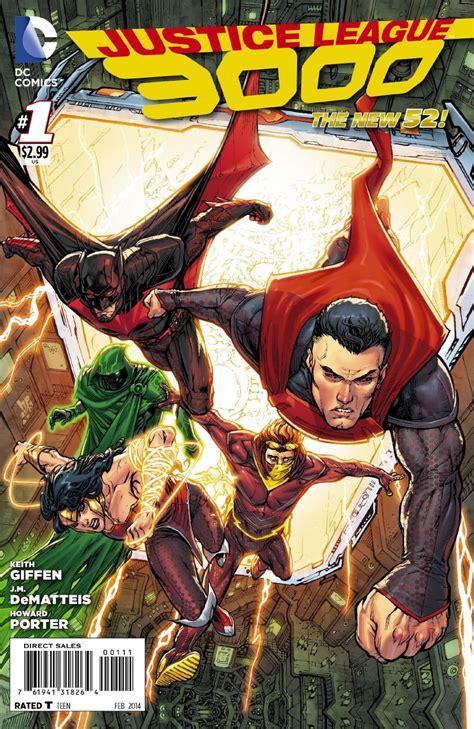 libro 1 justice league tp review justice league 3000 1 13th dimension comics creators culture