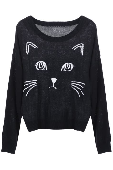 Blackcat Sweater black cat sweater shop for black cat sweater on wheretoget