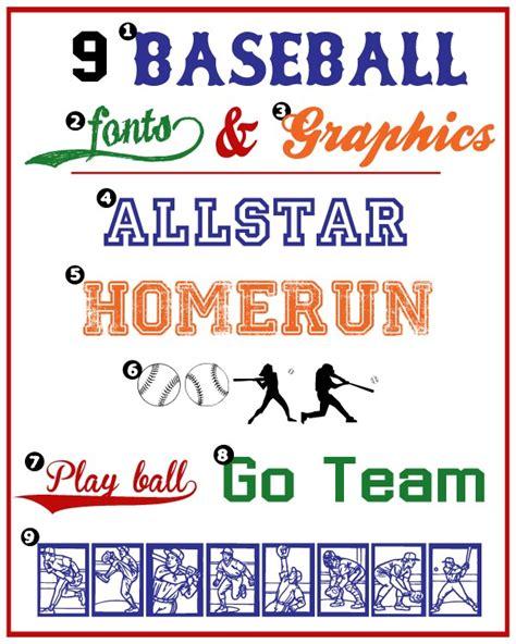 printable jersey font baseball fonts graphics liz on call
