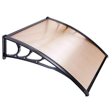 awning sun canopy 40 40 window door awning sun shade canopy hollow sheet uv