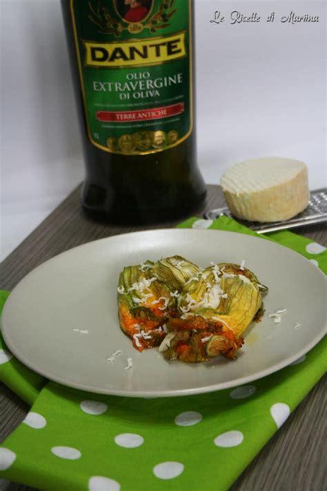 fiori di zucca ripieni al forno con ricotta fiori di zucca ripieni di ricotta al forno le ricette di