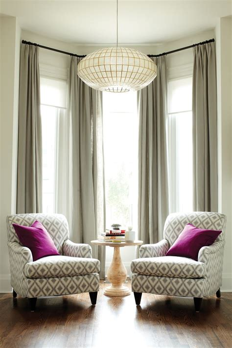 Drapes For Living Room Windows Decor Best 25 Bay Window Decor Ideas On Living Room With Bay Window Bay Windows And