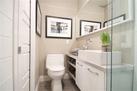 ways    small bathroom  bigger