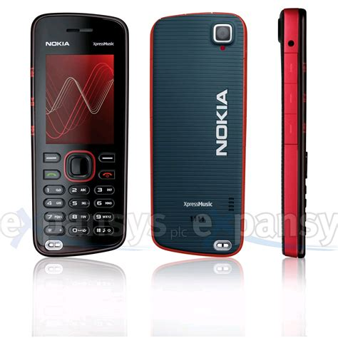 Hp Nokia X Press larger image for nokia 5220 xpressmusic uk black
