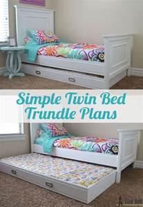 Diy Trundle Toddler Bed Best 25 Trundle Beds Ideas On