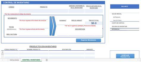 control de inventario en excel descargar 187 plantilla excel control de inventario
