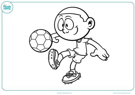 imagenes de niños jugando para imprimir los mejores dibujos de f 250 tbol para colorear e imprimir