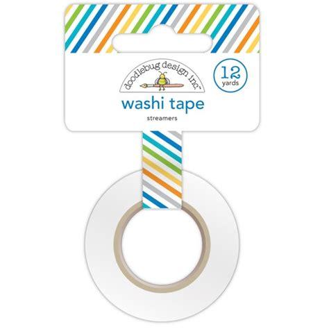 doodlebug designs washi doodlebug design hip hip hooray streamers washi