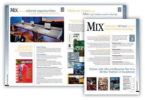 home design media kit collateral mix media kit