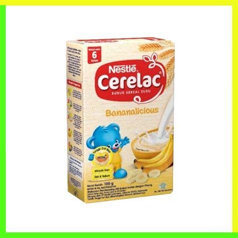 Nestle Cerelac Gd Madu 120gr nestle cerelac bubur pisang dan 120gr heron baby shop