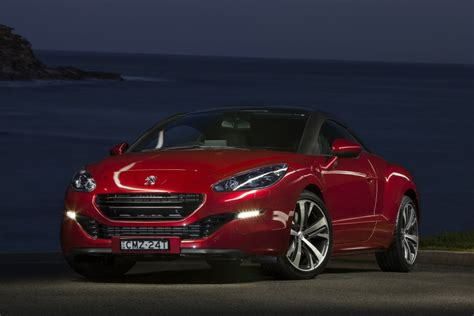 peugeot sports car price peugeot rcz hdi sports coupe reviews pricing goauto
