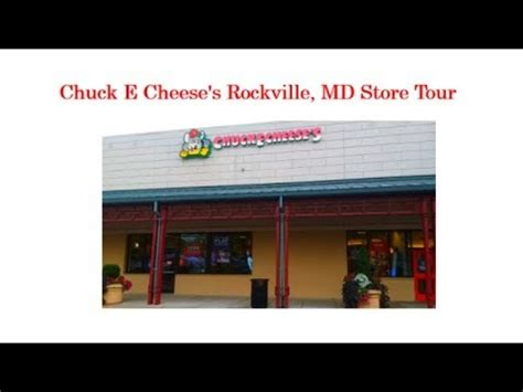 chuck  cheeses rockville md store  youtube