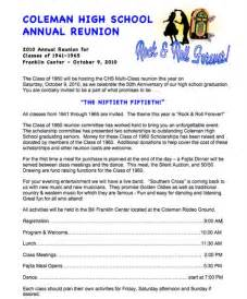 high school reunion website free other sles