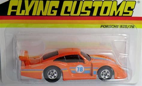 Wheels Flying Customs Series Orange Porsche 935 78 Porsche 935 78 Wheels Wiki