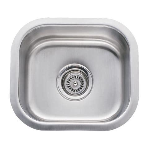 14 inch kitchen sink 14 inch stainless steel undermount single bowl kitchen