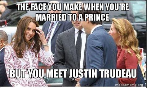 Justin Trudeau Memes - i just want someone who looks at me the way gal gadot