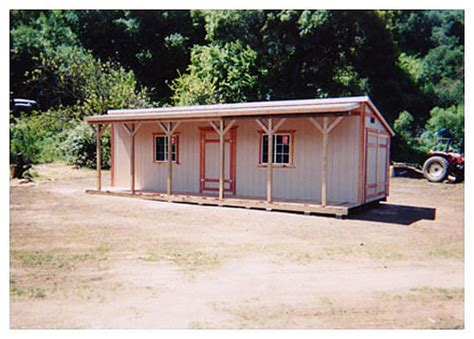 Shed Roof Types by California Custom Sheds 10x30 Shed Roof Style