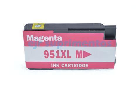Tinta Hp 951 Xl Magenta cartucho de tinta hp 951 xl magenta compat 237 vel pre 231 o r 40 00