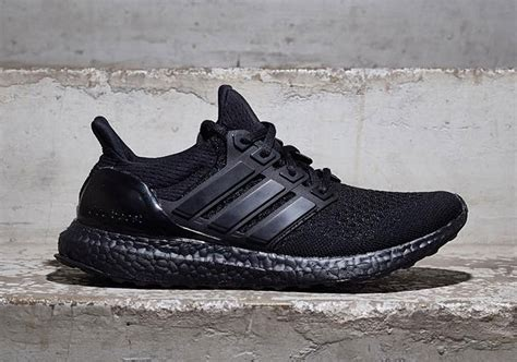 Adidas Utra Boost Black by Adidas Ultra Boost Black Release Date Sneaker Bar