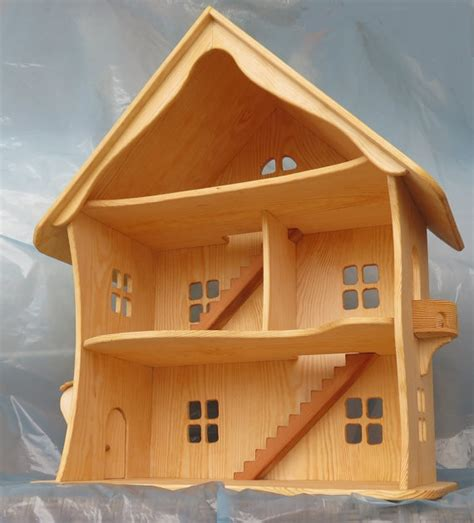 Handmade Doll House - handmade wooden dollhouse wooden dollhouse waldorf