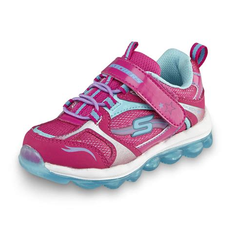 skechers toddler shoes skechers toddler s skech air memory foam pink