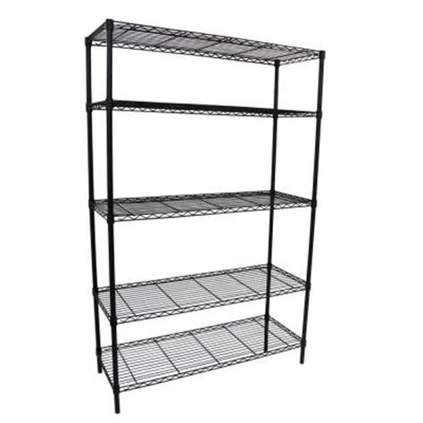 hdx 5 shelf 36 in w x 16 in l x 72 in h storage unit