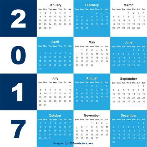 calendar layout download 2017 calendar template free download 123freevectors
